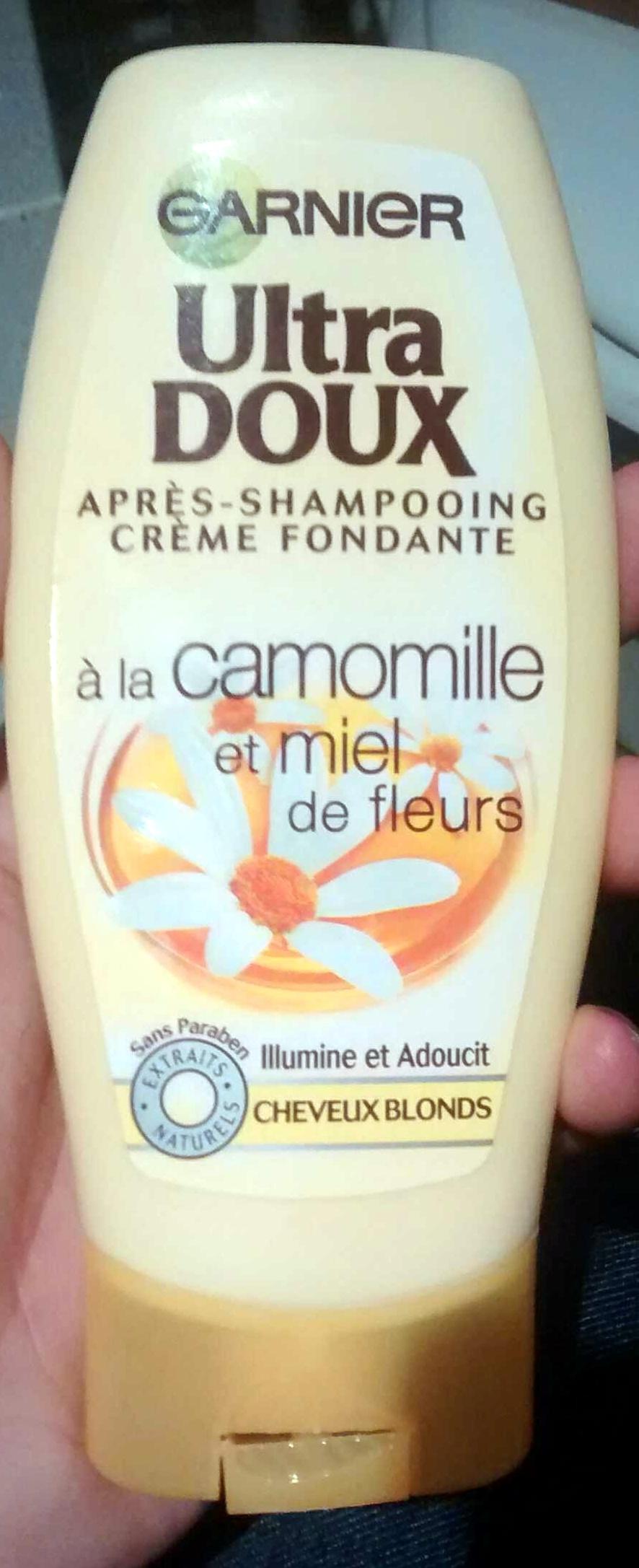 Après-shampooing crème fondante à la camomille et miel de fleurs - Product