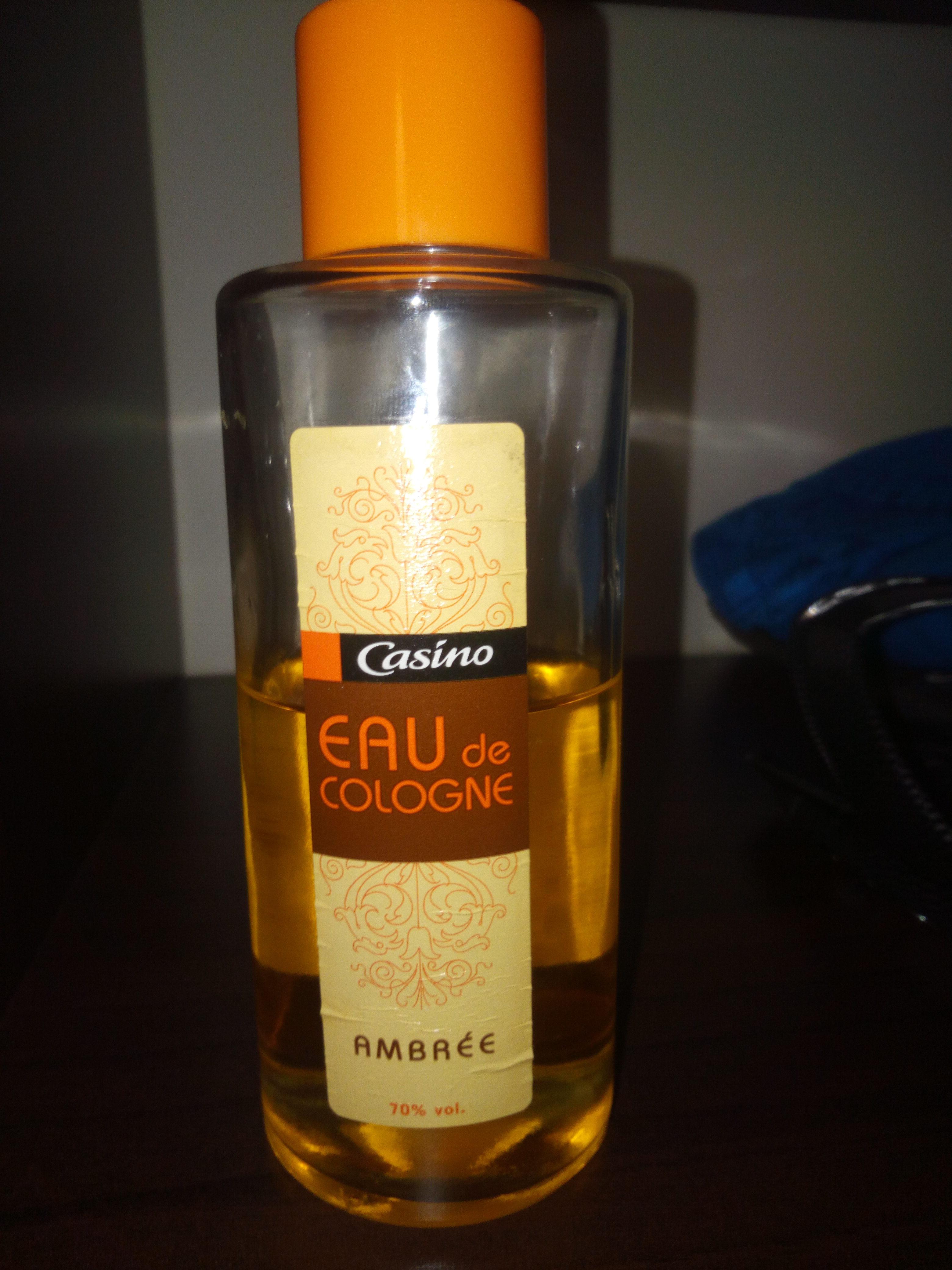 eau de cologne ambrée - Product - fr