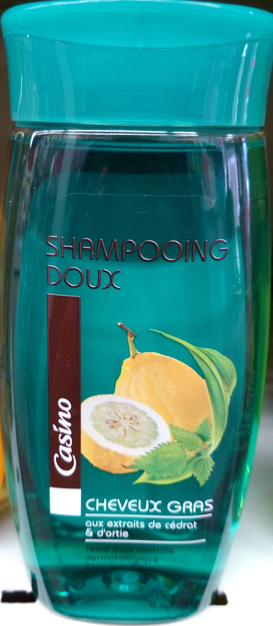 Shampooing doux cheveux gras aux extraits de cédrat et d'ortie - Product - fr