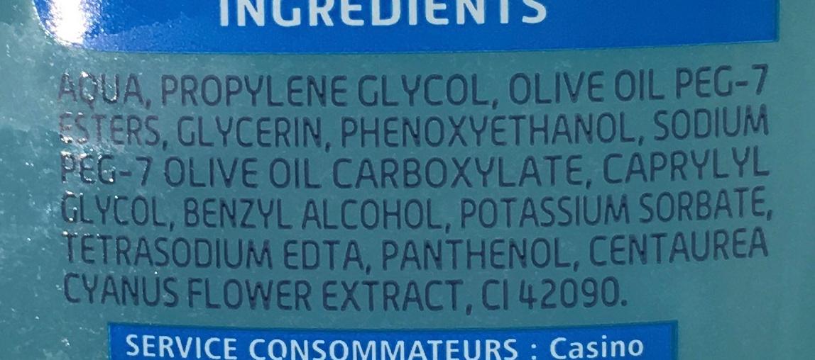 Démaquillant Yeux Douceur - Ingredients - fr
