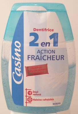 dentifrice 2en1 action fraîcheur - Product - fr