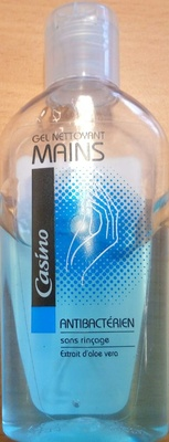 Gel nettoyant mains antibactérien - Produit