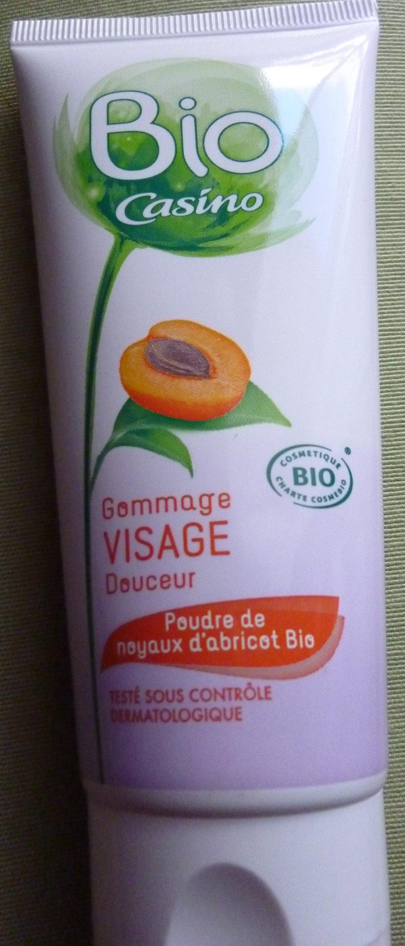 Gommage visage douceur bio poudre de noyaux d'abricots bio - Product