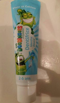 Dentifrice menthe douce - Product - fr