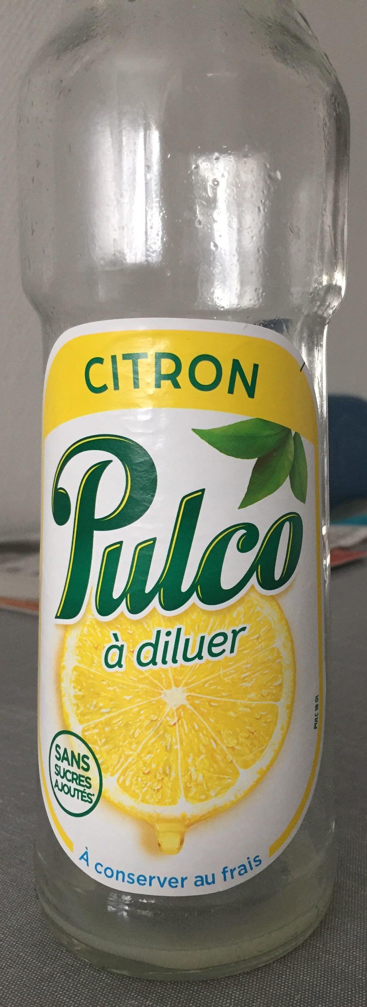 Pulco citron - Produit - fr