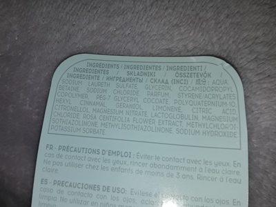 lait de douche - Ingredients