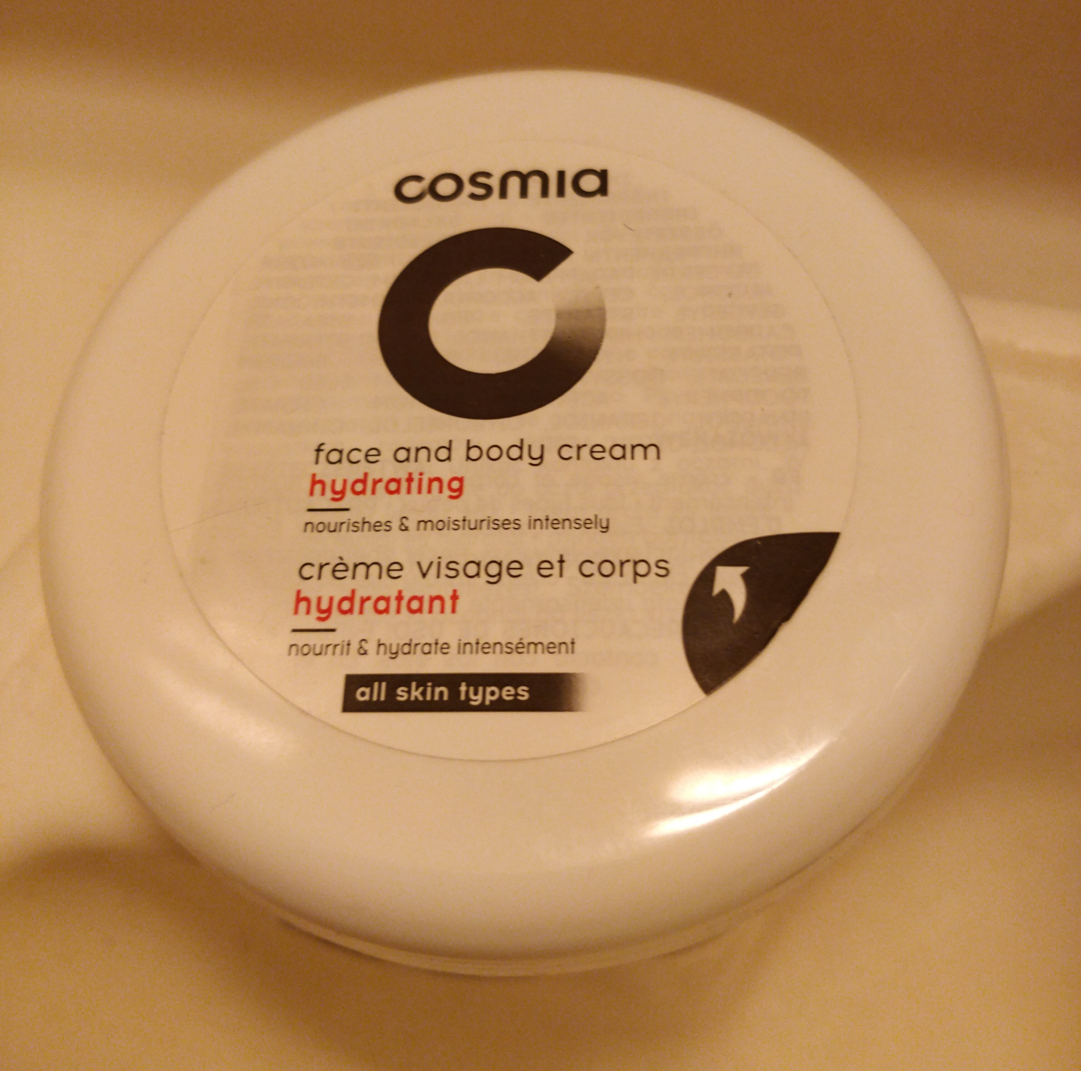 crème visage et corps hydratant - Product - fr