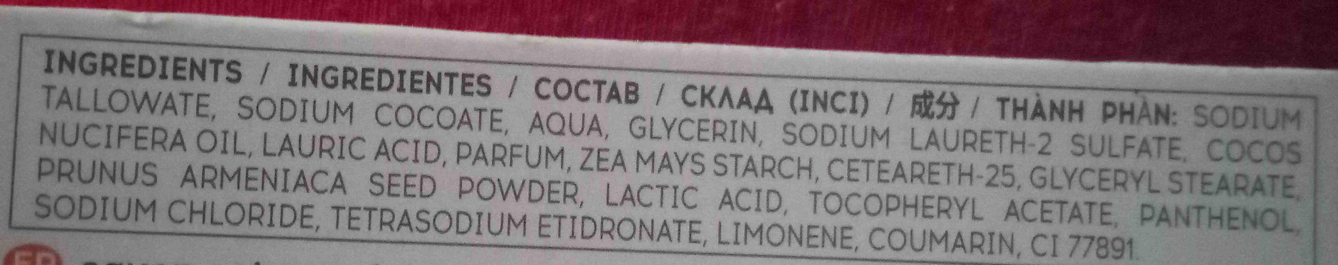 Exfoliante - Ingredients - en
