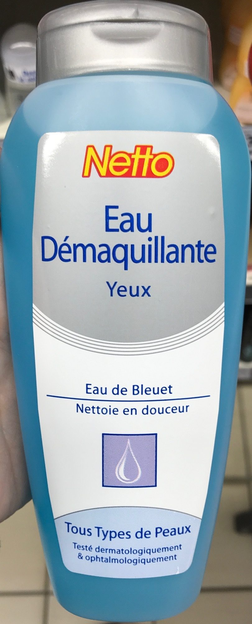Eau démaquillante Yeux - Produit - fr