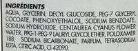 Eau démaquillante Yeux - Ingredients