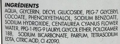 Eau démaquillante Yeux - Ingredients - fr