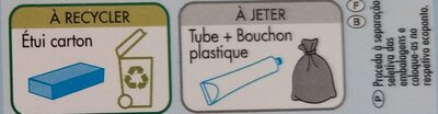 Dentifrice Labell blancheur - Recycling instructions and/or packaging information - fr