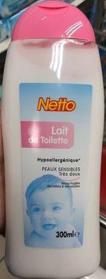 Lait de toilette - Produit
