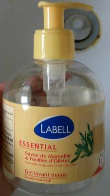 Essential Savon de Marseille & Feuilles d'Olivier Gel lavant mains - Product