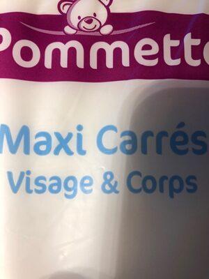 Maxi carrés visage et corps - Produit - fr