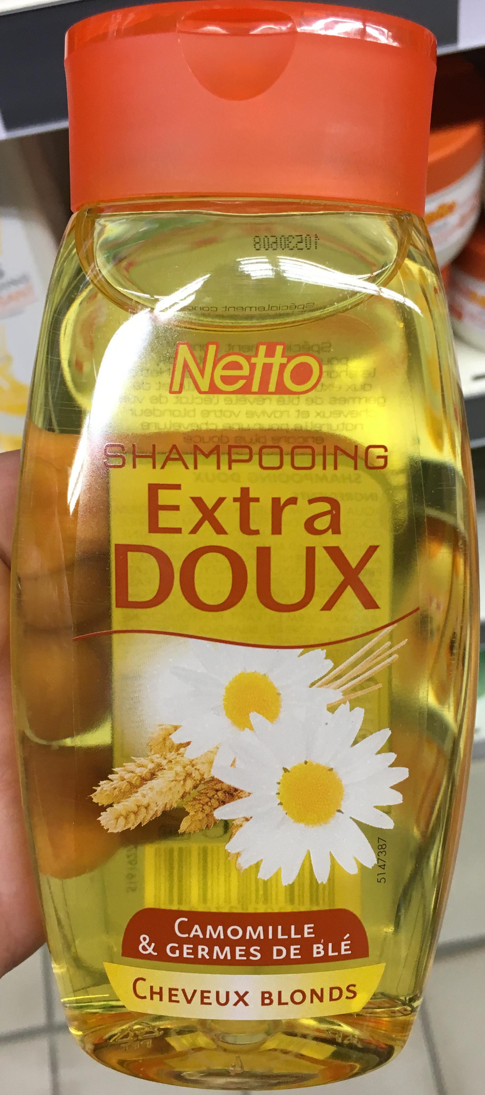 Shampooing extra doux Camomille & Germes de blé cheveux blonds - Product - fr