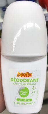 Déodorant anti-transpirant 24H Thé Blanc - Produit - fr