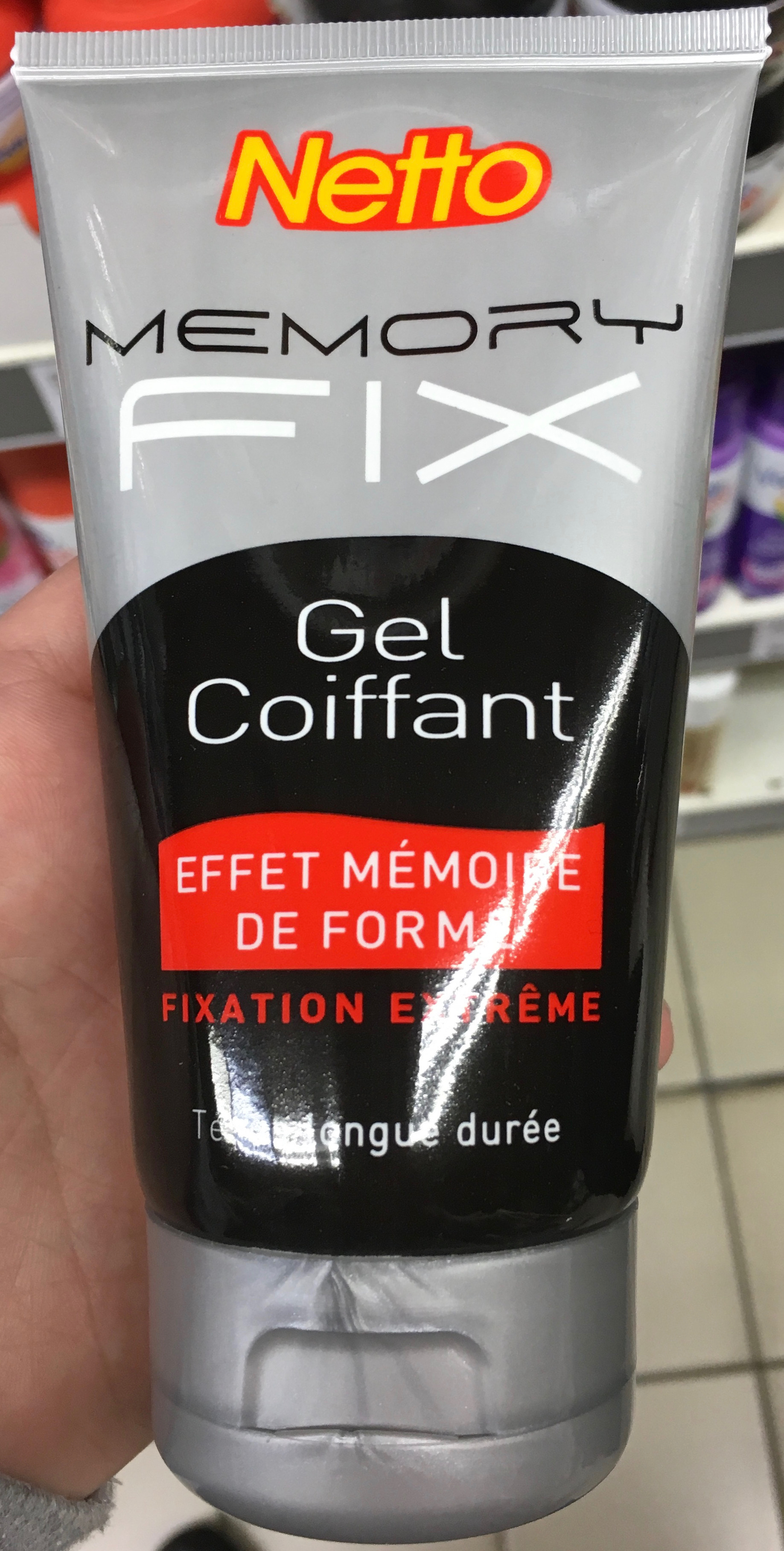Memory Fix Gel Coiffant - Product - fr