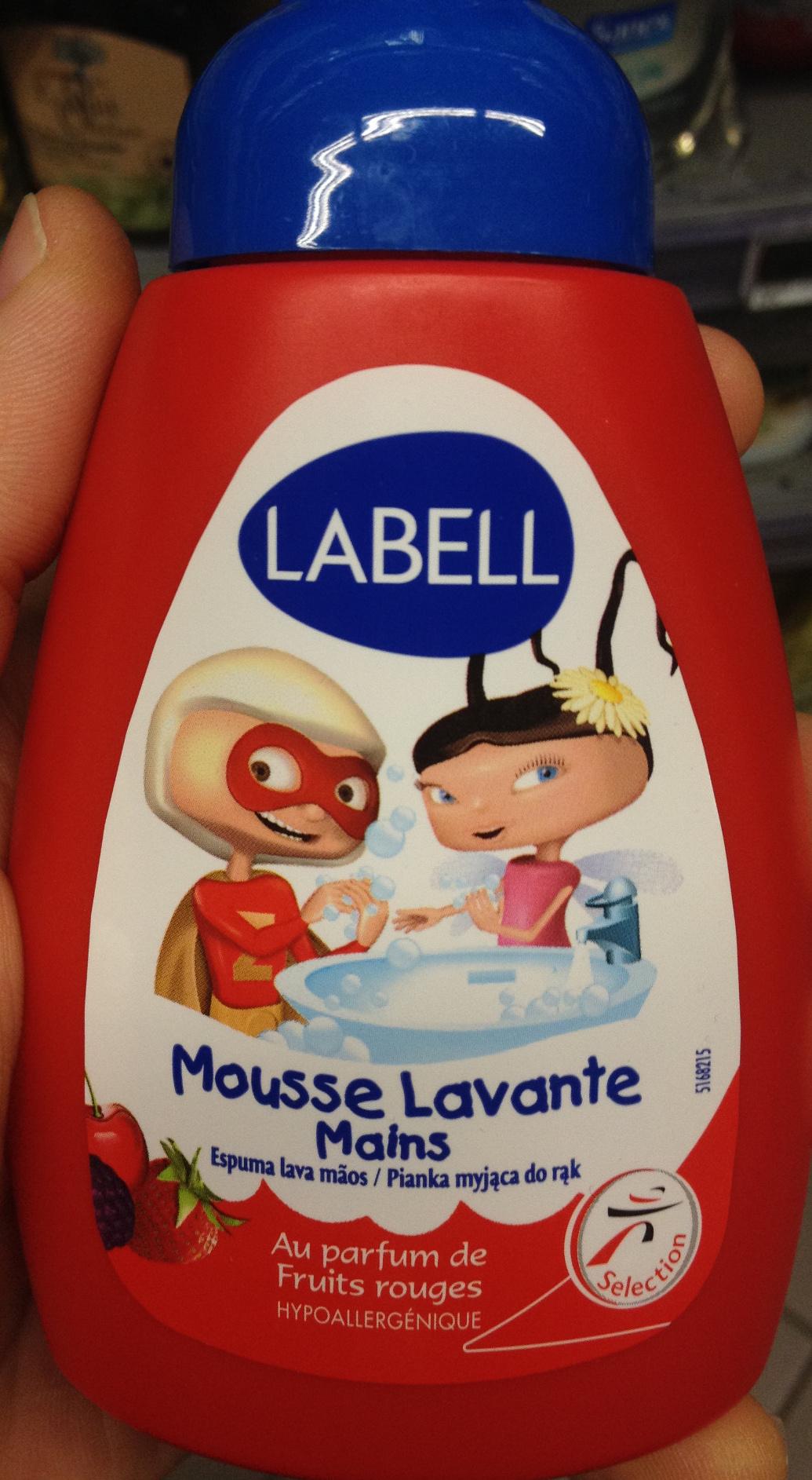 Mousse lavante mains aux parfums de fruits rouges - Produit