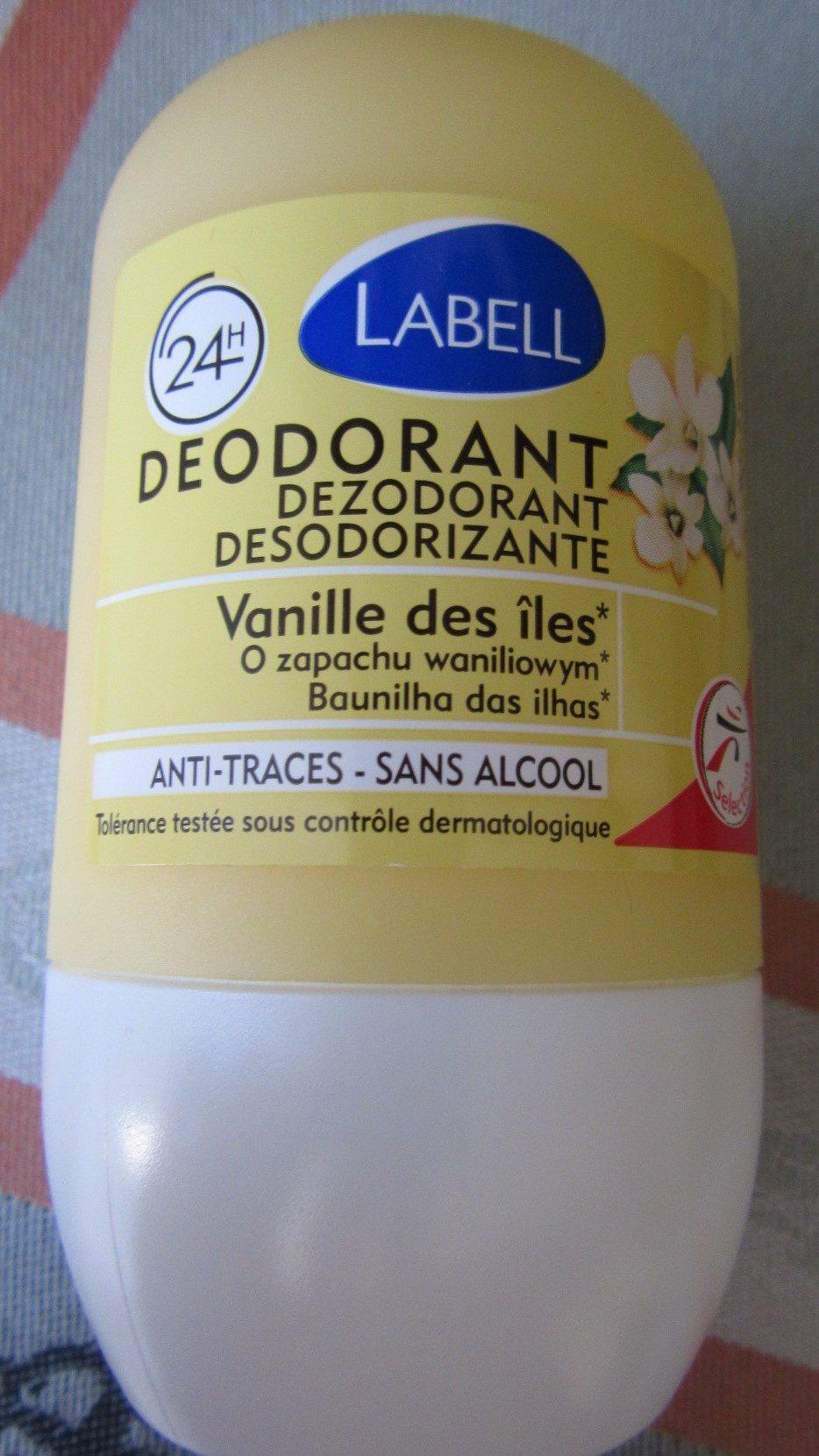 Labell Déodorant Vanille des îles - Product - fr