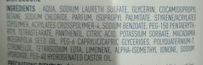 Bain & douche Hydrataion - Ingrédients - fr