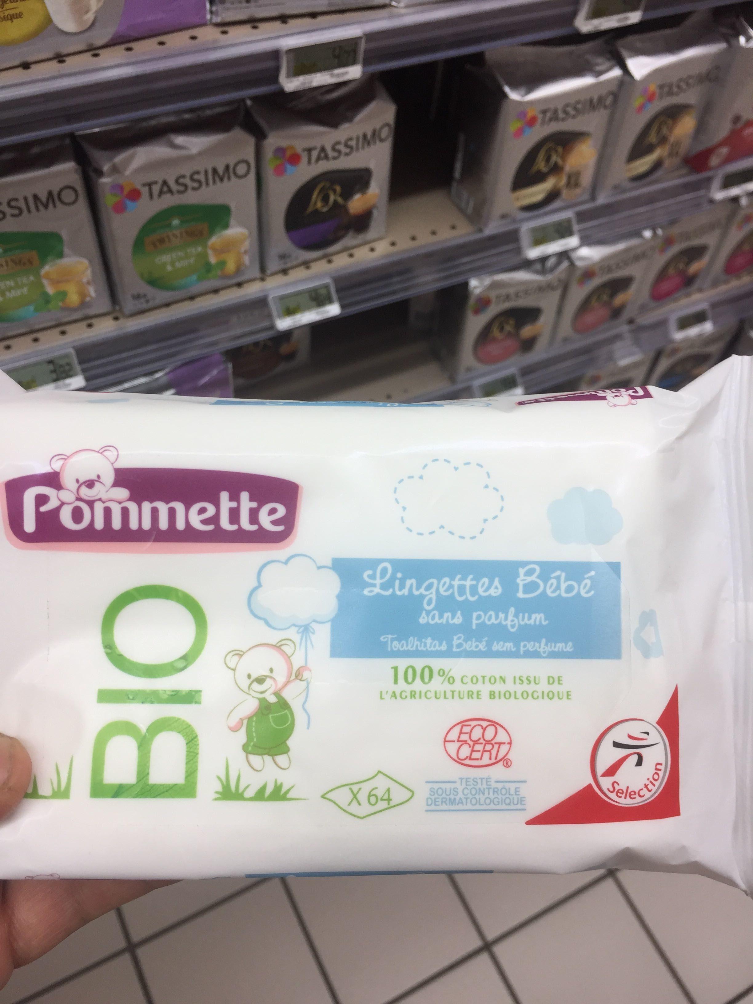 Lingettes bébé - Produit