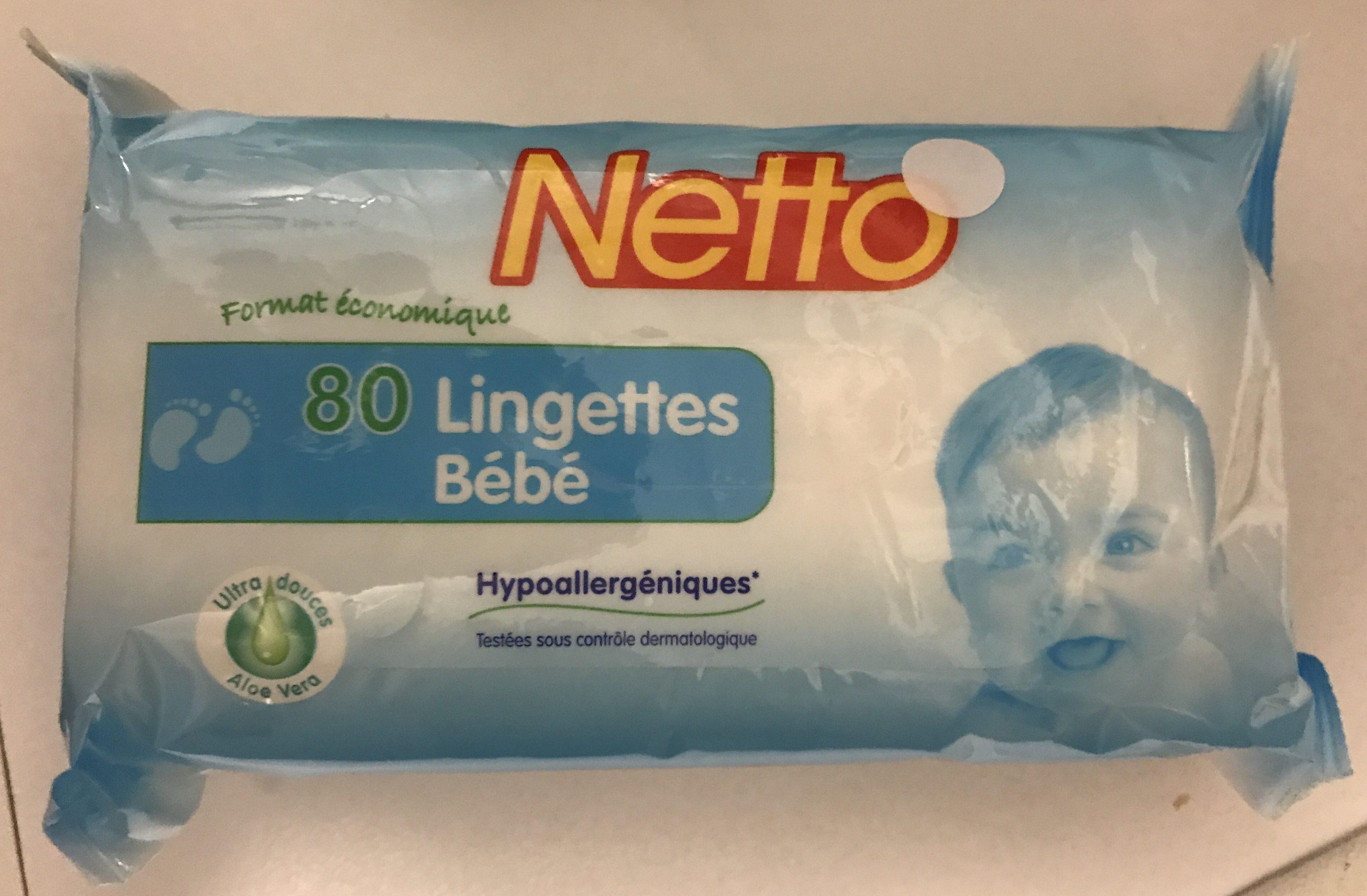 80 Lingettes bébé - Product - fr
