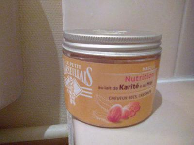 Masque nutrition au lait de karité et au miel - cheveux secs, cassants - Product - fr