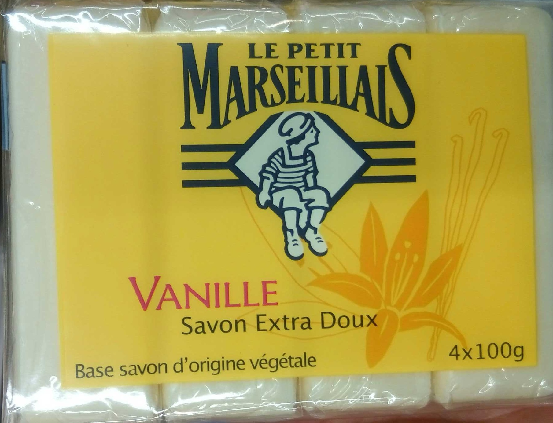 Savon extra doux Vanille - Product - fr