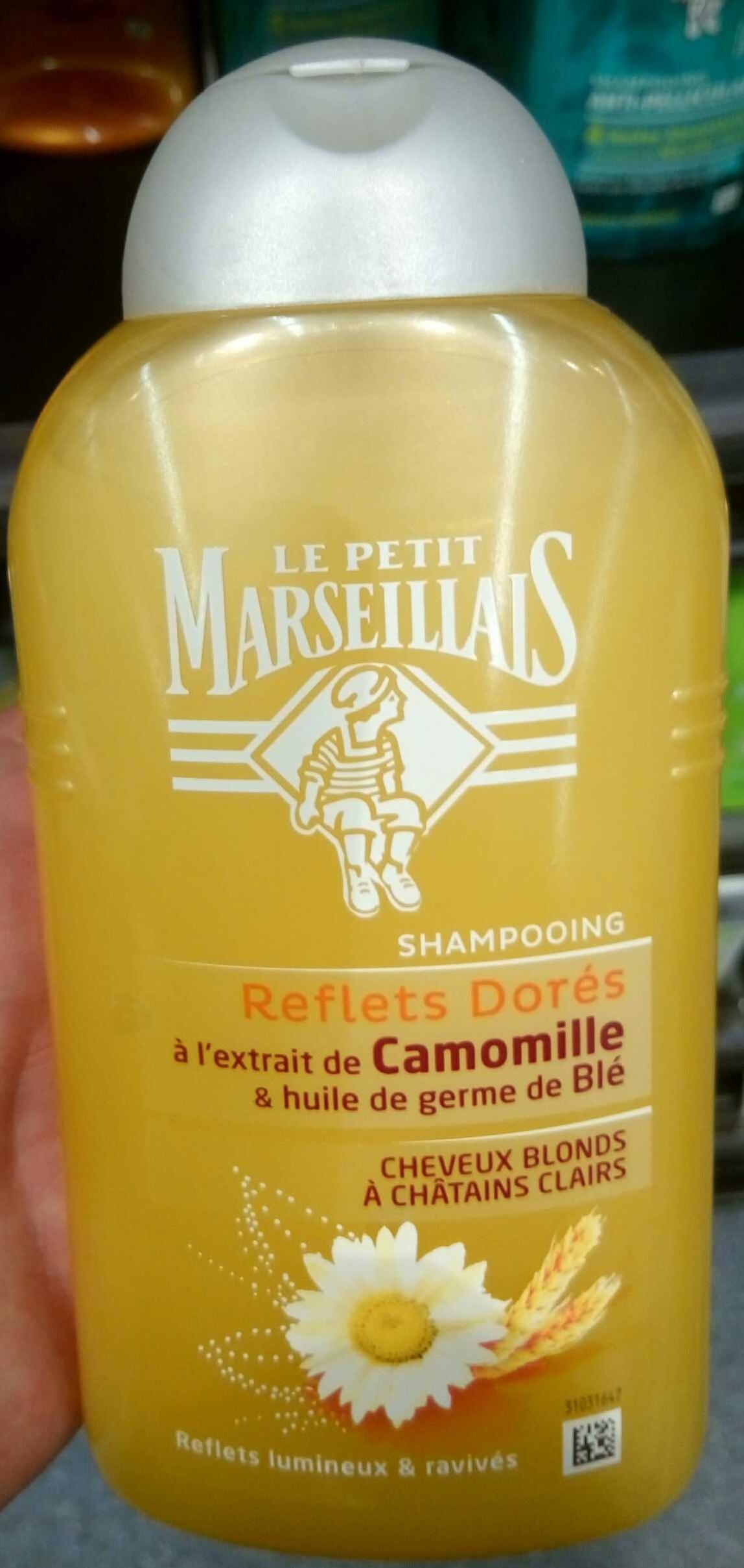 Shampooing Reflets Dorés - Produit