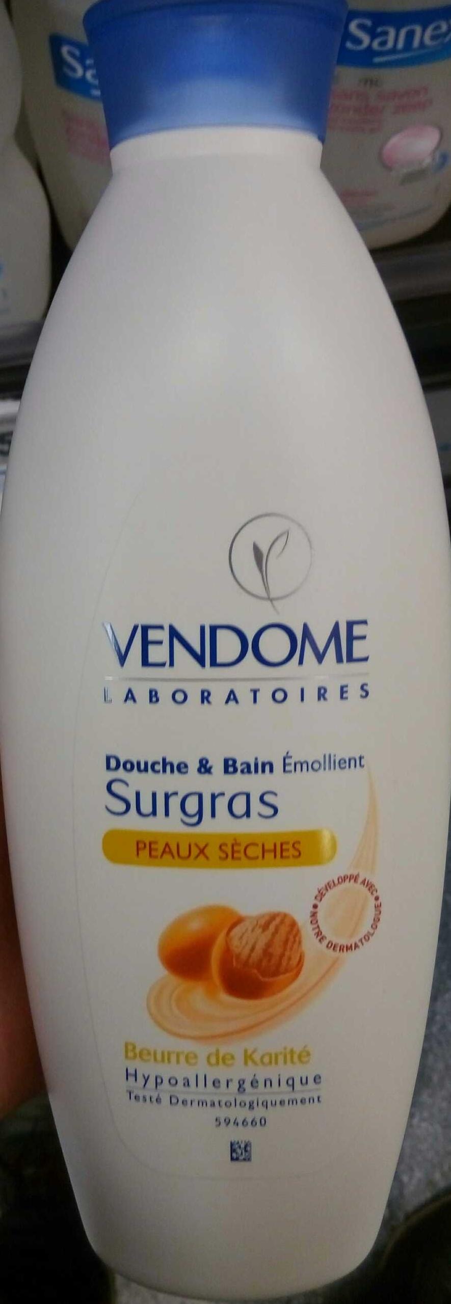Douche & Bain Emollient Surgras - Produit - fr