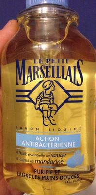 Savon liquide action antibactérienne à l'huile essentielle de sauge et extrait de mandarine - Product - fr