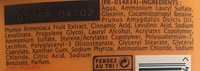 gel douche avec du lait et de l'abricot - Ingrédients