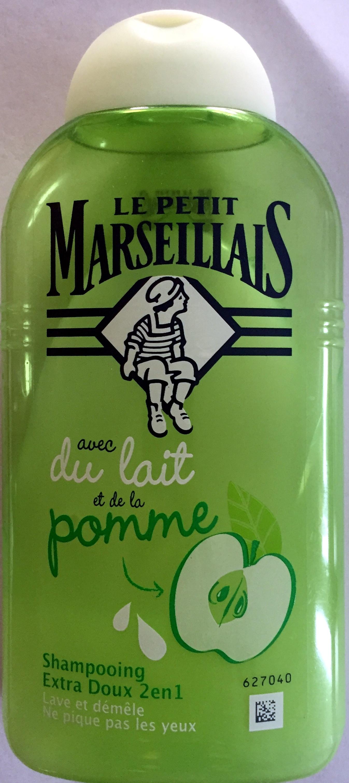 shampooing avec du lait et de la pomme - Product - fr