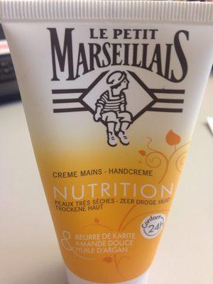 Le Petit Marseillais Crème Mains Nourrissante à L'huile D'argan - Product
