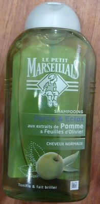 Shampooing Force & Eclat Pomme cheveux normaux - Produit