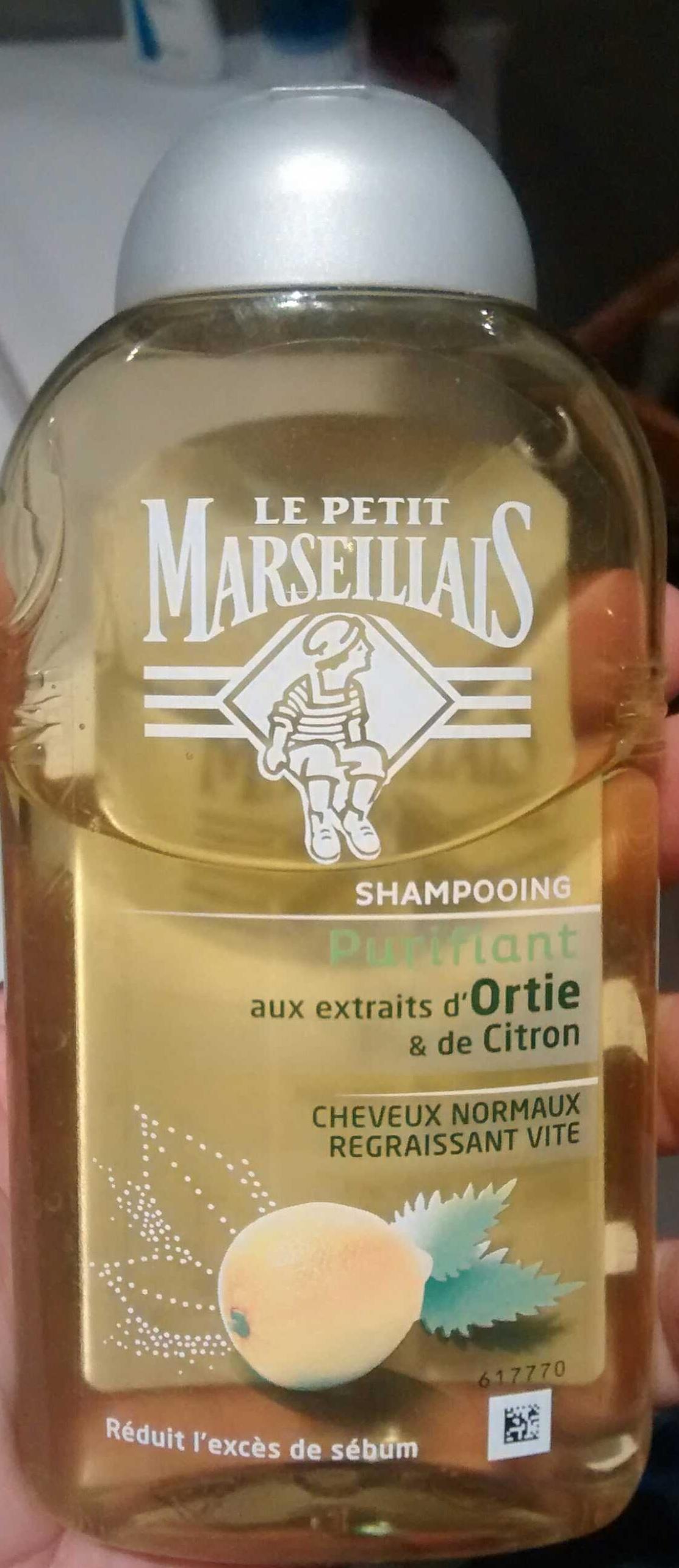 Shampooing purifiant aux extraits d'ortie et de citron - Produit