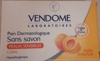 Pain dermatologique sans savon à l'huile d'abricot - Produit - fr