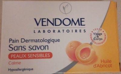 Pain dermatologique sans savon à l'huile d'abricot - Product
