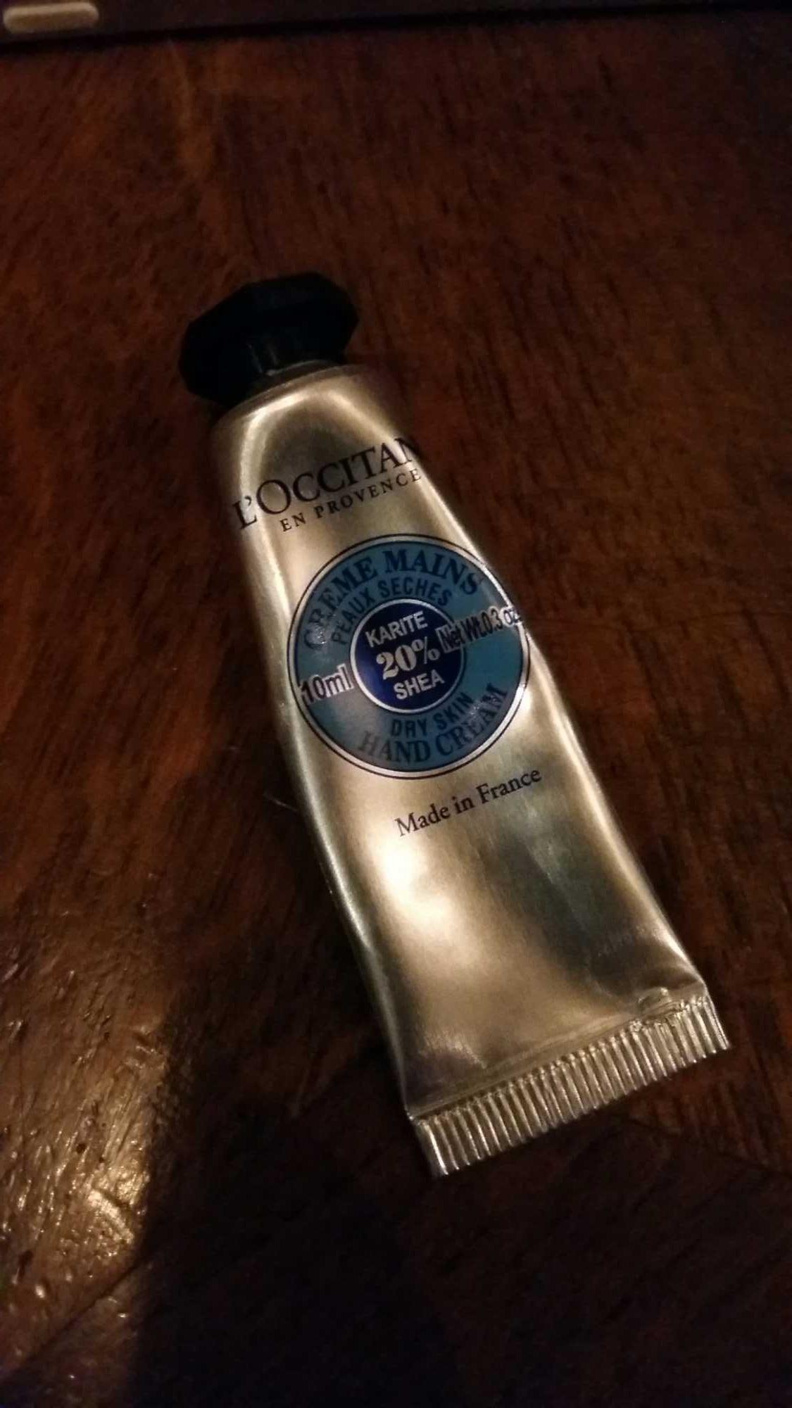 Crème mains Karité 20% - Produit - fr
