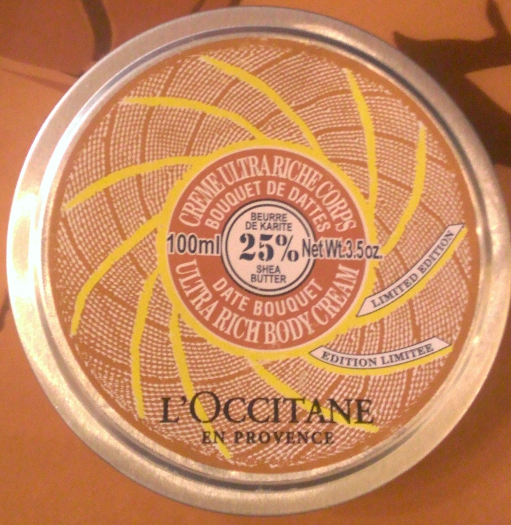 Crème ultra riche corps bouquet de dattes - Product - fr