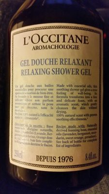 Gel douche relaxant - Product