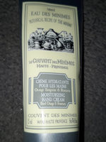 crème hydratante  pour  les  mains - Produit