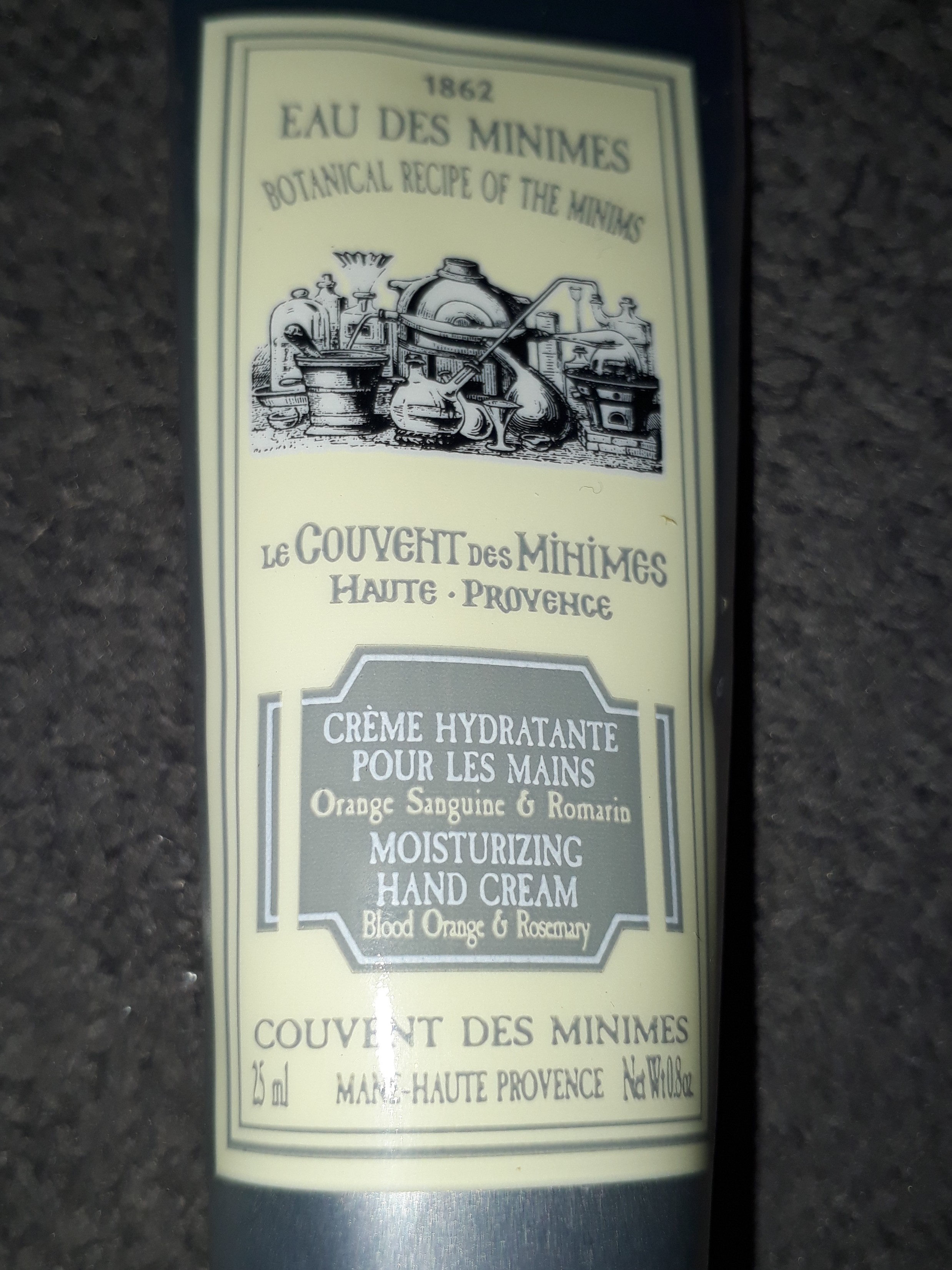 crème hydratante  pour  les  mains - Product