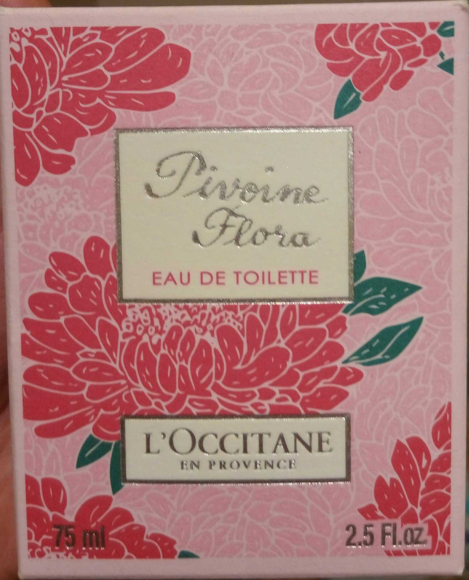 Eau de toilette Pivoine Flora - Produit - fr