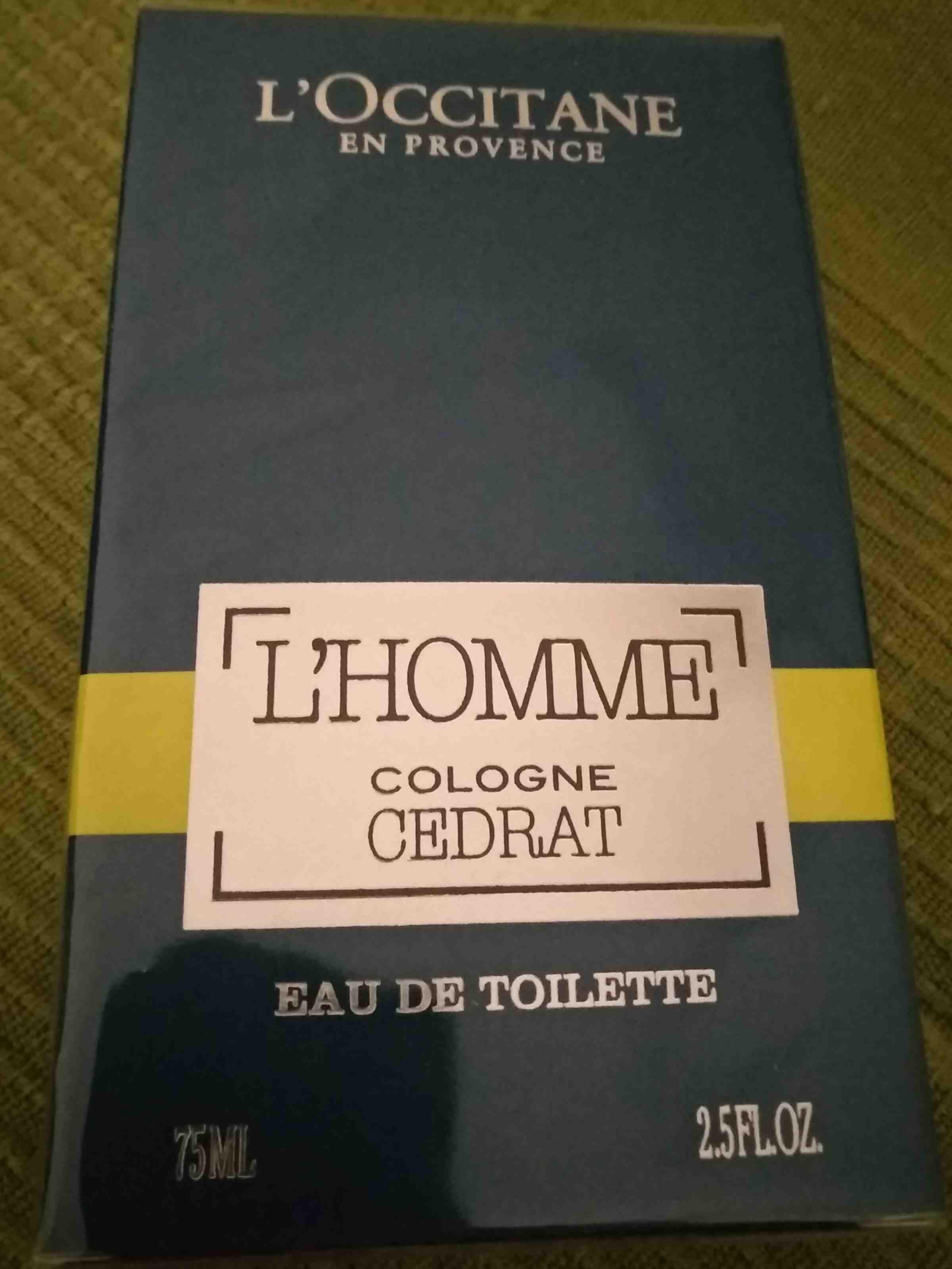l'occitane l'homme Cologne - Produit - en