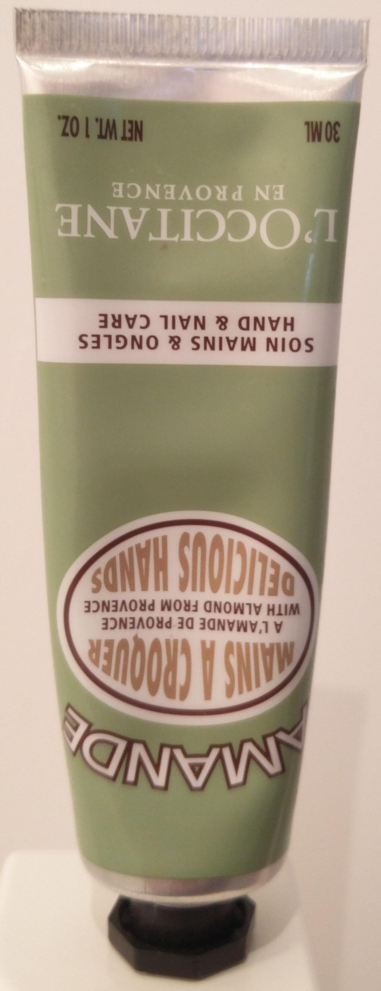 L'occitane En Provence Almond Delicious Hand Cream - Product - en