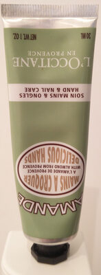 L'occitane En Provence Almond Delicious Hand Cream - Produit - fr