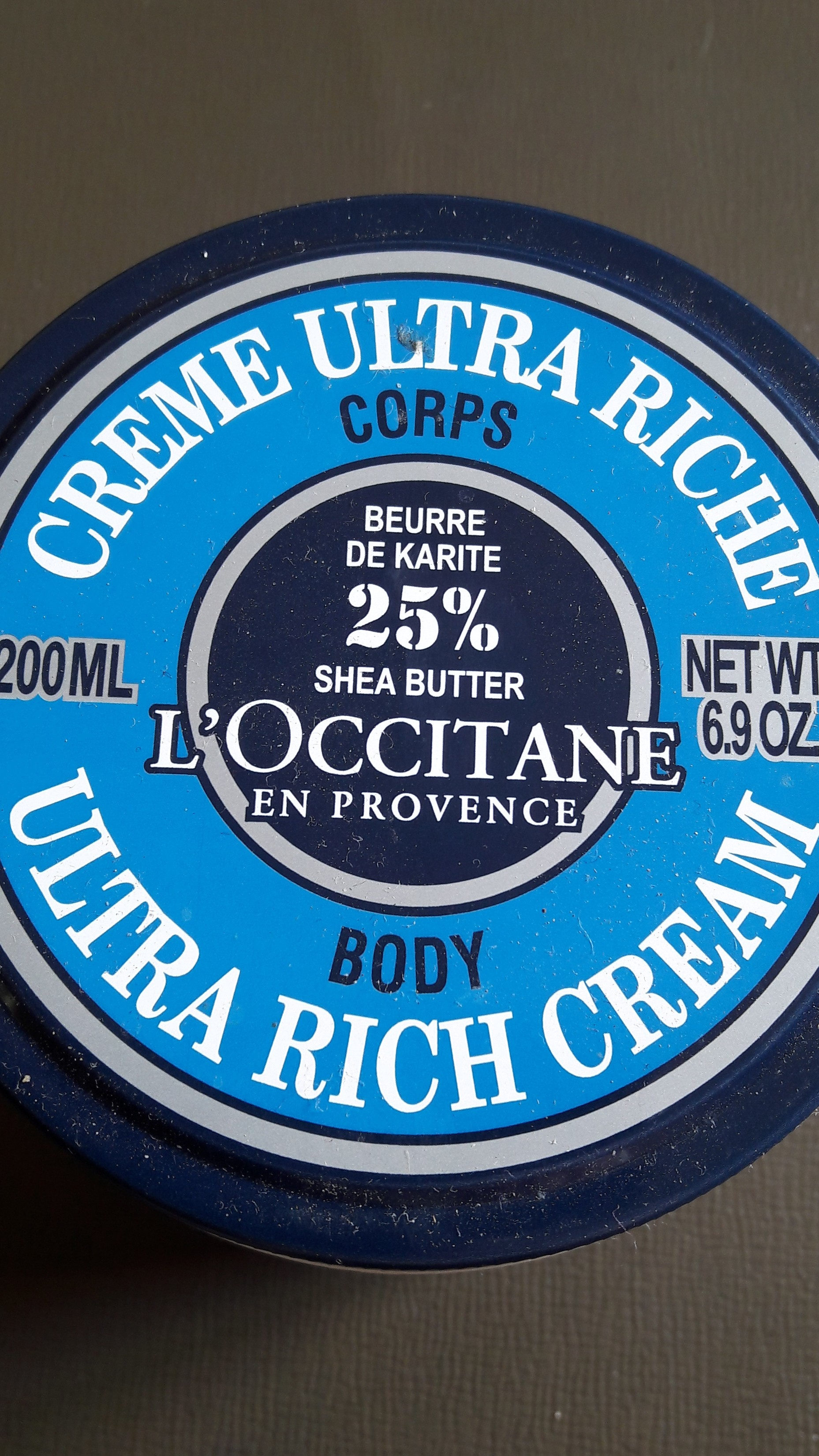 crème ultra riche corps - Product - fr