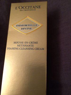 Mousse en crème nettoyante - Product
